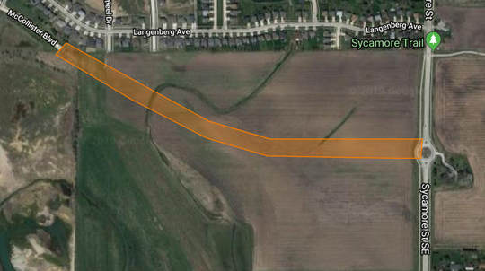 Iowa City Council considered an extension project of McCollister from Gilbert to Sycamore streets.