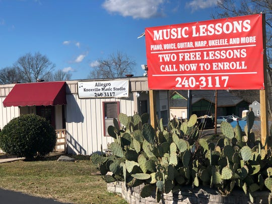 Allegro Knoxville Music Studio moved to 3025 Sanders Drive in Fountain City over the summer. This family-run business offers instruction in piano, ukulele, banjo, mandolin, harp, acoustic and electric guitar as well as voice.