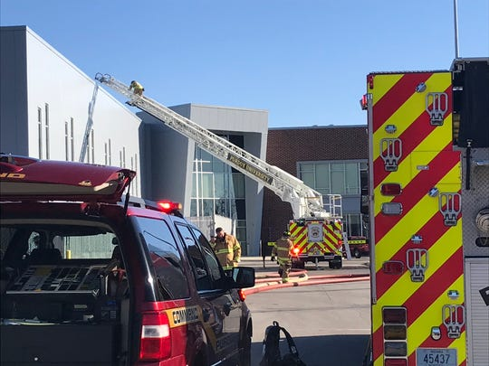 Welders accidentally caused a fire on the roof of the Rolls Royce building on Indiana 26 and U.S. 231 in West Lafayette. No one was injured, and the fire was quickly extinguished.