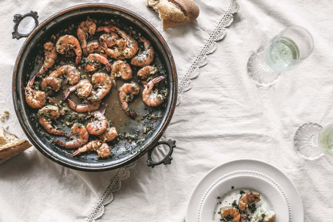 "Louisiana barbecue shrimp is one of the recipes in ""Jubilee"" by Toni Tipton-Martin and published by Clarkson Potter. Reprinted with permission."