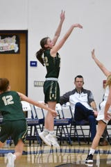 Howell's Maeve St. John scored 17 points in a victory over Novi.