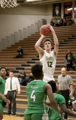 Howell's Tony Honkala scored a team-high 13 points in a 56-34 victory over Novi on Tuesday, Jan. 7, 2020.