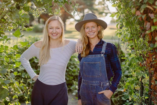 """""""The Farmer and The Foodie"""" on KET is hosted by Lindsey McClave (left) and Maggie Keith (right)."""