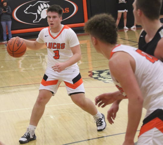 Lucas' Ethan Wallace has the Cubs looking for their second consecutive Mid-Buckeye Conference championship.