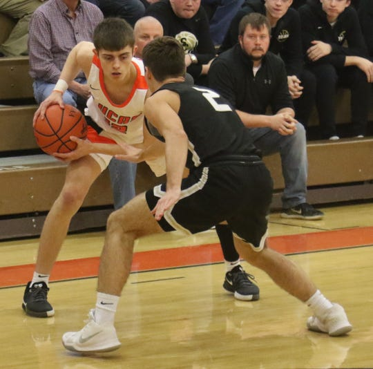 Lucas' Riley Gossom had a huge week as he helped the Cubs improve to 10-0 and remain No. 1 in the Richland County Boys Basketball Power Poll.
