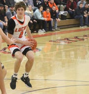 Lucas' Carson Hauger helped the Cubs knock off South Central on Tuesday night to remain atop the Richland County Boys Basketball Power Poll.