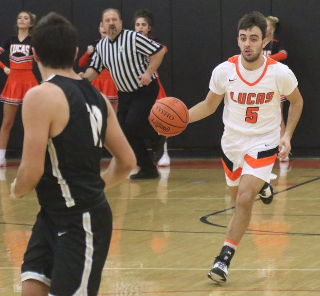 Lucas' Ethan Sauder has the Cubs at No. 1 in the Richland County Boys Basketball Power Poll.