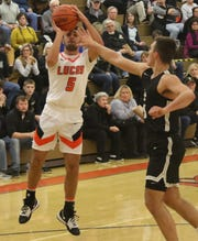 Lucas junior Ethan Sauder is the new Cubs boys basketball program single-game record holder with 14 assists in a game, a feat he achieved in a 79-46 win over McComb on Jan. 4.