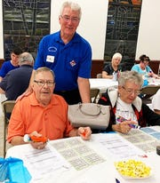 On Jan. 2, the Knights of Columbus San Marco Council #6344 hosted a Bingo Night in the San Marco Parish Center. The winner of the Coach bag was Ryan Custer from Massachusetts.