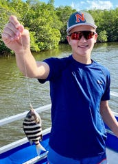 Catch and release: William Grossman from Chestnut Hill, Mass.