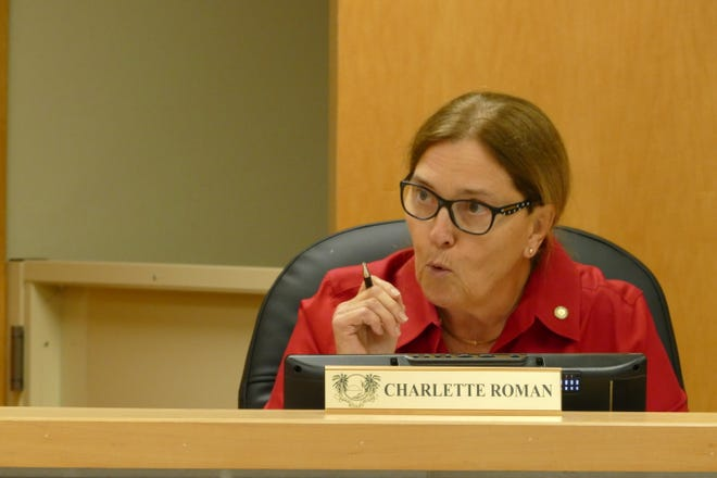 Marco Island City Councilor Charlette Roman speaks during a council meeting on Jan. 6, 2020.