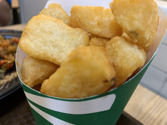 Fried yuca from Pollo Tropical, South Naples.
