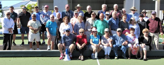 The Italian American Society of Marco Island spent the afternoon of Jan. 6 playing bocce at Mackle Park. It was a picture perfect day to begin the season with cool temperatures and plenty of sunshine. The club will play every week and all members are welcomed. For more information, call Peter Pareene at 518-339-1612 or visit iasmi.org.
