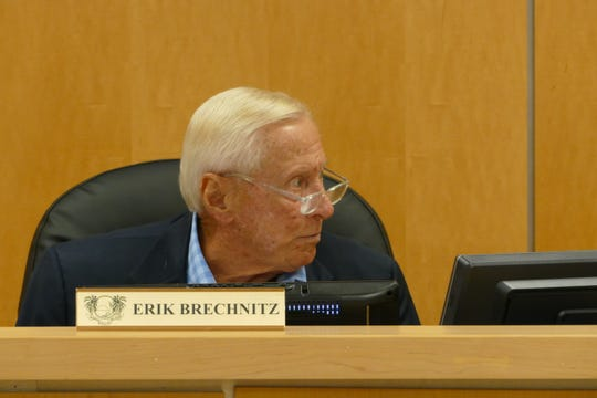 Erik Brechnitz, chairperson of the Marco Island City Council, said the Marco Island Community Parks Foundation's board will consist of seven voting members including six who will be appointed by City Council. In the picture, Brechnitz speaks to councilor Charlette Roman during a City Council meeting on Jan. 6.
