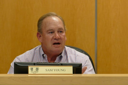 """Sam Young, Marco Island City Council member, said that Myrnabelle Roche, Marco's code enforcement special magistrate, needed to be replaced. """"This is a person that needs to be replaced so I'm kind of stunned to hear a motion to carry her on for another two years and not look for a change,"""" Young said at the City Council meeting on Jan. 6."""