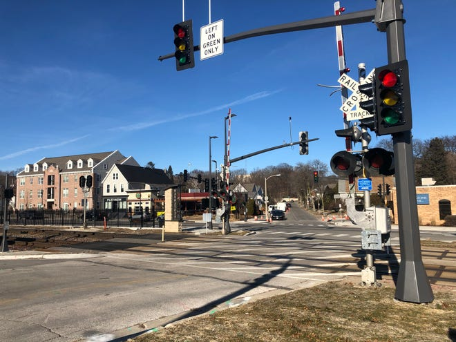 Wauwatosa police say a man intentionally walked onto the tracks near 72nd Street and West State Street in Wauwatosa. The railroad runs parallel to State Street near Hart Park.