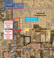 A number of residents, a former council member, a former mayor and Cub Scouts voiced support to extend Marquette Avenue to 51st Street at a Jan. 7 council meeting in Franklin.