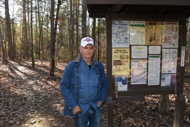 Chief Frankie Baker and other members of the Norfork Volunteer Fire Department spent several hours recently looking for a pair of lost hikers. Baker has tips for those who are contemplating a hike.