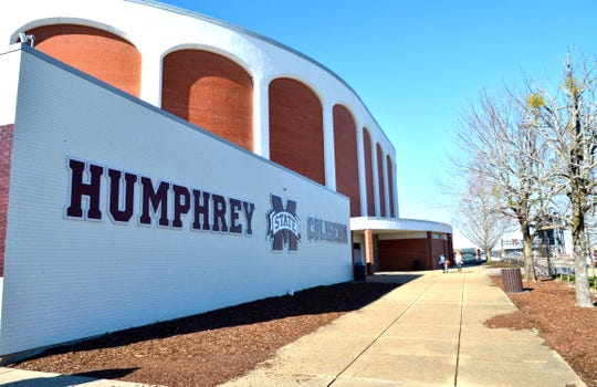 Jan 4, 2020; Starkville, Mississippi, USA; General view of Humphrey Coliseum prior to the game between the Mississippi State Bulldogs and the Auburn Tigers. Mandatory Credit: Jim Brown-USA TODAY Sports
