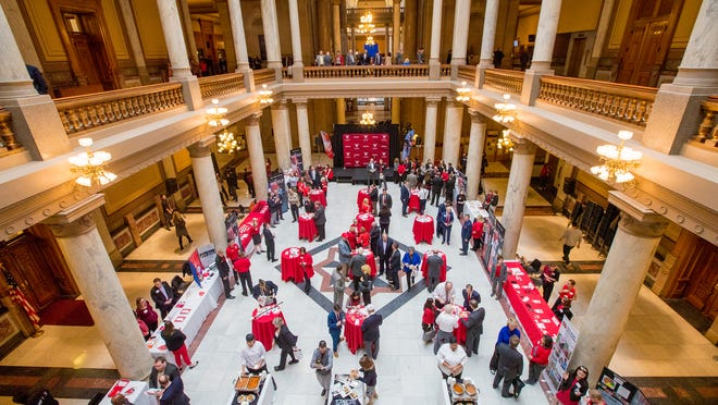 Ball State is hosting its annual Ball State Day at the Statehouse on Jan. 9.