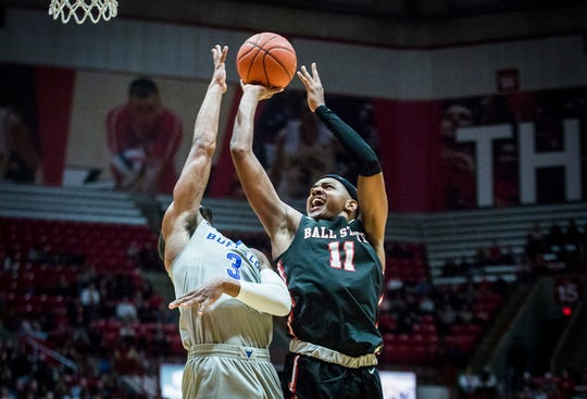 Ball State defeated Buffalo 88-68 during their game at Worthen Arena Tuesday, Jan. 7, 2020.