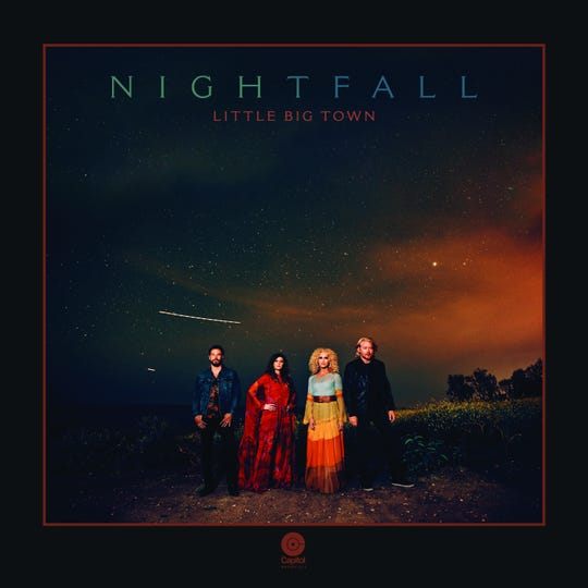 "Little Big Town's ninth studio album ""Nightfall"" will be available Jan. 17."
