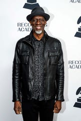 Keb' Mo' poses for a photo as he walks the red carpet before a Grammy Awards party at the Hutton Hotel, Tuesday, Jan. 7, 2020, in Nashville, Tennessee.