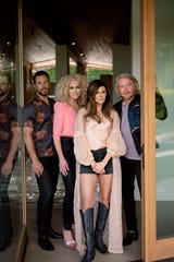 "Little Big Town, from left, Jimi Westbrook, Kimberly Schlapman, Karen Fairchild and Phillip Sweet,  take on real-world issues in ""Nightfall,"" which will be available Jan. 17."