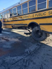 Metro Schools bus crash on Jan. 8, 2020