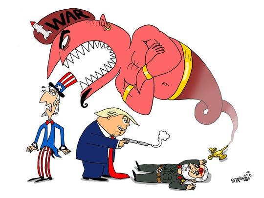 Iran's revenge genie released.