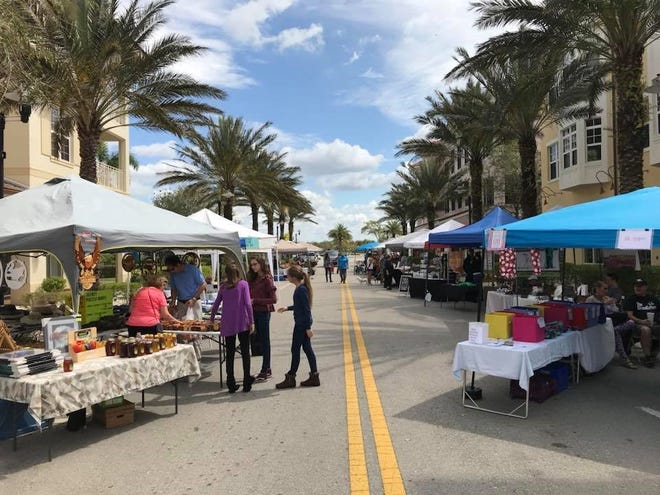 Farmers Markets are open to the public  every Saturday from 9 am to 2 pm in the Ave Maria Town Center through April.