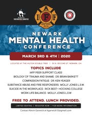 Newark firefighters' union IAFF 109 is hosting the Newark Mental Health Conference in March.
