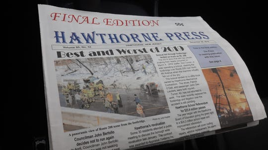 The final edition of Hawthorne Press.