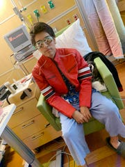Las Cruces teen Brannden Fernandez, 16, at Stanford Children's Hospital, has been placed as a priority on the heart transplant list, after four months of waiting, Tuesday Jan. 7, 2020.