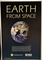 "The ""Earth from Space"" exhibition opening this weekend at the Farmington Museum at Gateway Park features 20 images of the planet captured by satellites."