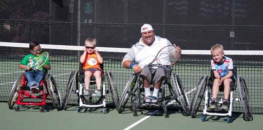 Wheelchair tennis was founded in 1976 by USTA honoreeBrad Parks and Jeff Minnenbraker, both wheelchair athletes.