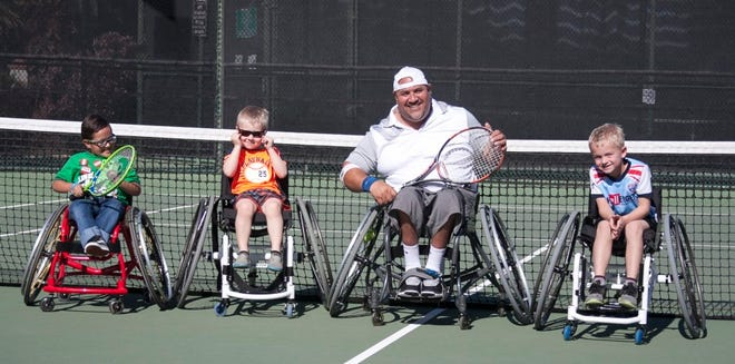 Wheelchair tennis was founded in 1976 by USTA honoree Brad Parks and Jeff Minnenbraker, both wheelchair athletes.