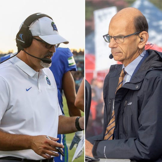UWF head coach Pete Shinnick was the first call-in head coach in 2020 for Paul Finebaum's national college football radio show.