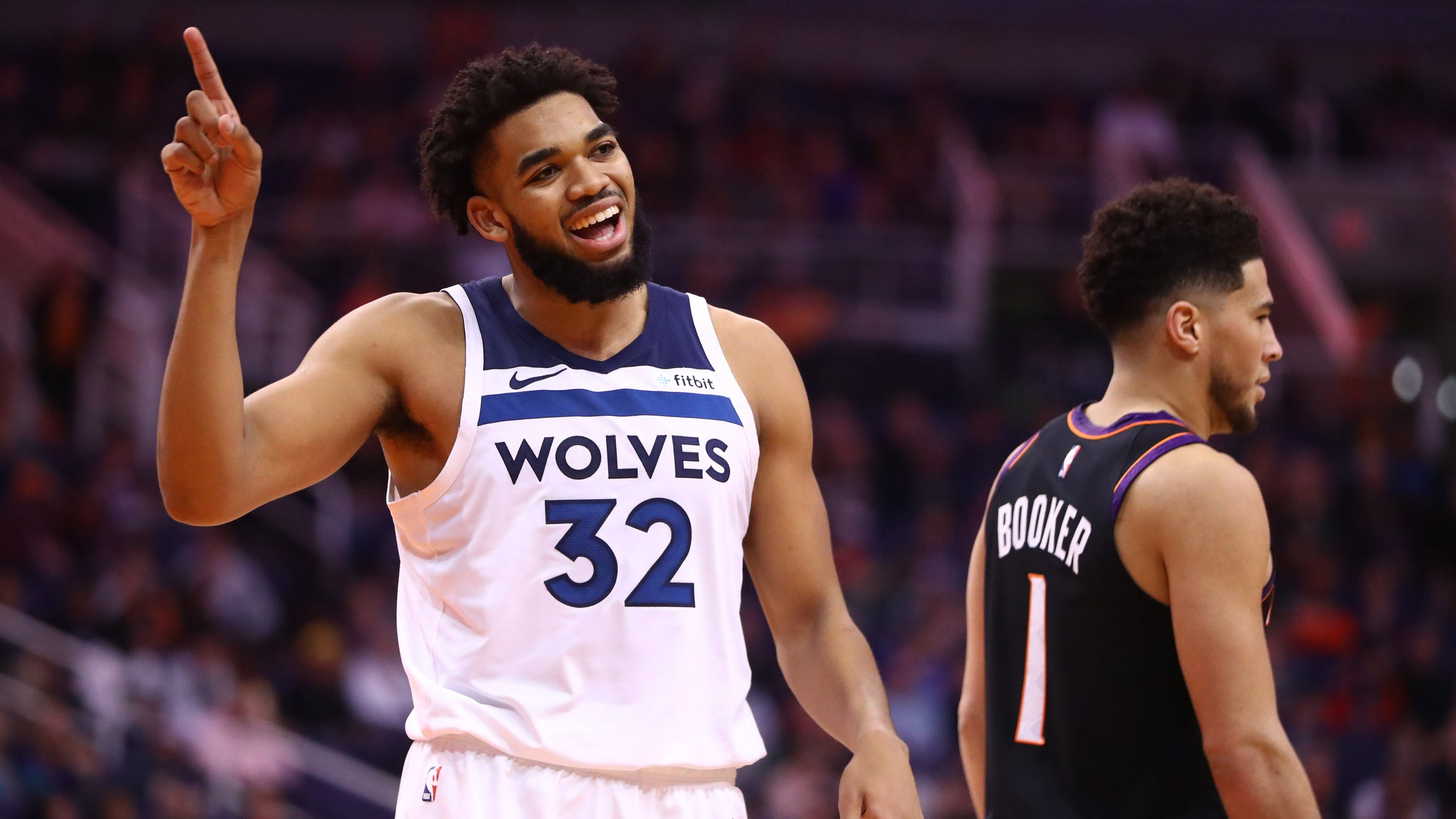 Karl Anthony Towns Trade Suns Fans Sound Off On Timberwolves Center