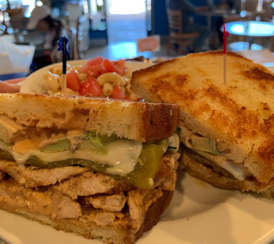 The Sante Fe grilled chicken sandwich from JJ's Delicatessen made Food Network's list of best sandwiches in America.