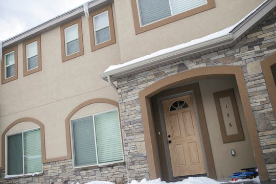 The townhouse complex in Rexburg, Idaho, where Lori Vallow and Chad Daybell were last contacted is seen Jan. 7, 2020.