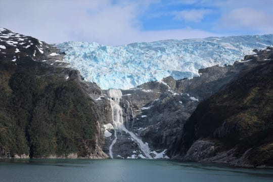 One of six glaciers in the Beagle Channel near Ushuaia, Argentina.