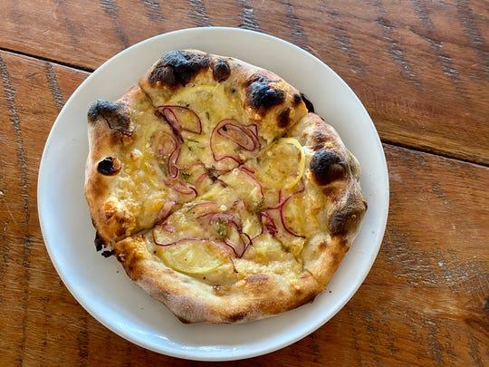 An Arizona Lemon Pizzete at Pane Bianco Van Buren on Jan. 7, 2019.