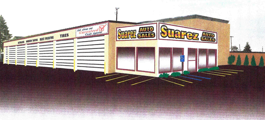 Noel Suarez, owner of Suarez Auto Sales, says he's run out of space at his current 10th Street business and is looking to renovate an old plant at 3519 Military St. Preliminary site plants for expanding that property to include a storefront were OK'd by Port Huron planning commissioners Tuesday, Jan. 7, 2020.