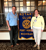 The Port Huron Rotary is celebrating 100 years of service in 2020 and will host a centennial celebration on May 1.