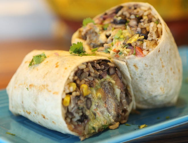 The short rib burrito from Mexicali Blue in Wappingers Falls on January 8, 2020.
