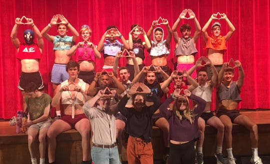 Contestants from the 2019 Mr. York Suburban, a pageant showcasing the talents of York Suburban Senior High School boys and raising money for the school's Mini-THON. This year, a new batch of 12 contestants will compete from 6-8 p.m. Thursday, Jan. 9 at the high school.