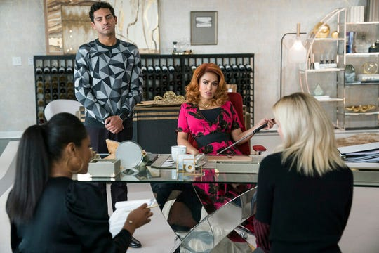 """From left, Tiffany Haddish, Karan Soni, Salma Hayek and Rose Byrne star in  """"Like a Boss."""" The movie opens Thursday at Regal West Manchester, Queensgate Movies 13 and R/C Hanover Movies 16."""