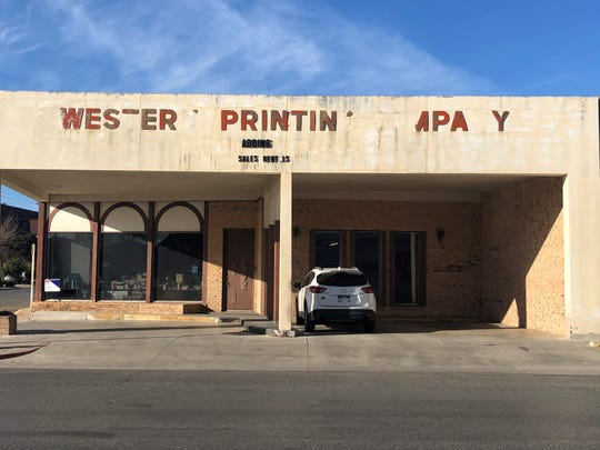 Western Printing Company, 51 N Chadbourne St., has been in San Angelo since 1927 and is planning to close at the end of Jan. 2020.
