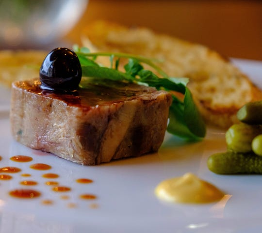 Terrine at The Fig & The Pheasant
